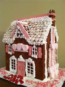 Valentine Gingerbread House