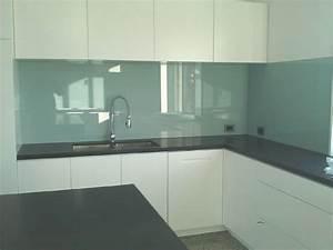 Coloured glass splashbacks Glass Balustrades Bathroom