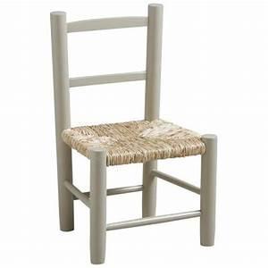 Chaise Bois Enfant : chaise enfant bois paille gris la vannerie d 39 aujourd 39 hui ~ Teatrodelosmanantiales.com Idées de Décoration