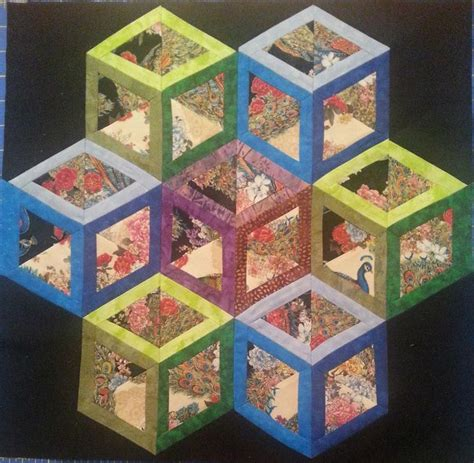 tumbling block quilt pattern template the 25 best tumbling blocks ideas on pinterest tumbling