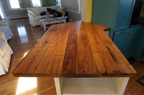 Longleaf Lumber   Reclaimed Chestnut Countertop