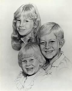 Pictures  Faces Kids Pencil Sketch