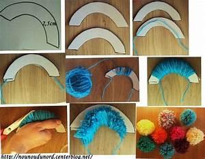 Bricolage A Faire Avec Des Petit : activite avec de la laine poupee pompon ~ Melissatoandfro.com Idées de Décoration