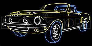 Car Neon Signs Top 10 Muscle Car Neon Signs Neon and More