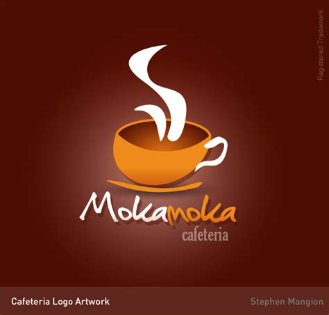 artwork prints cafeteria logo by mangion on deviantart