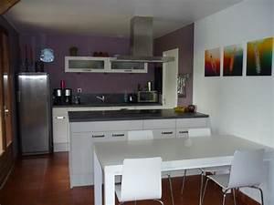 couleur mur pour cuisine blanche inox With quelle couleur pour le salon 4 quelle sol pour ma cuisine