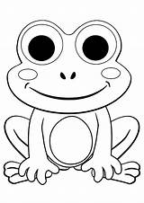 Coloring Frogs Pages Printable Frog Sheets Children Preschool Justcolor Cartoon Adult Spring Kindergarten Animals Animal Books sketch template