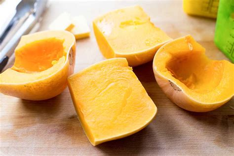 cook butternut squash how to cook a whole butternut squash in the pressure cooker simplyrecipes com