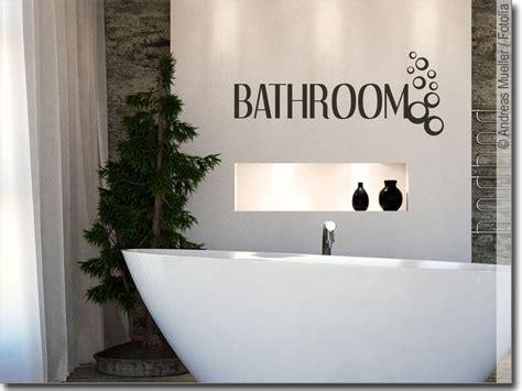 Wandwort Bathroom  Tolles Wandtattoo Für Das Bad