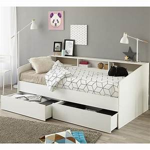 parisot sleep day bed with drawers shelving family window With sofa bed for teenager