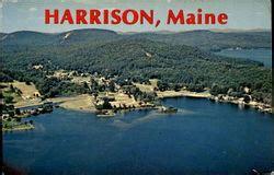 harrison maine vintage postcards images