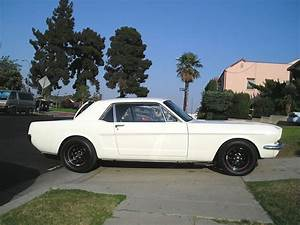 1st gen white 1966 Ford Mustang Coupe Project For Sale - MustangCarPlace