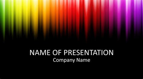 colorful powerpoint template templateswisecom