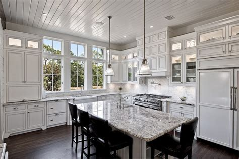 titantium and lennon granite kitchen kitchen traditional