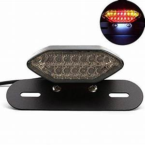 Motorcycle Tail Light With Turn Signals  Amazon Com