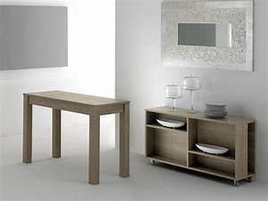 Console A Rallonge : magic box 320 table console rallonges en bois ~ Teatrodelosmanantiales.com Idées de Décoration