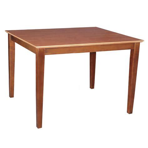turned table legs unfinished international concepts unfinished turned leg dining table