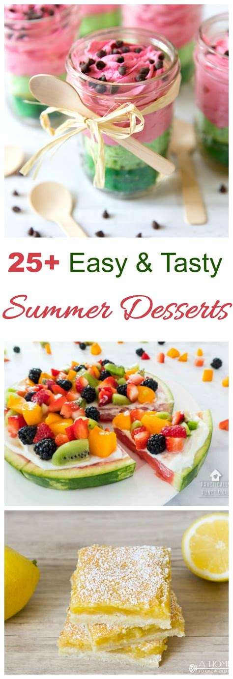 Summer Dessert Table Tips for Sweets that Take the Heat