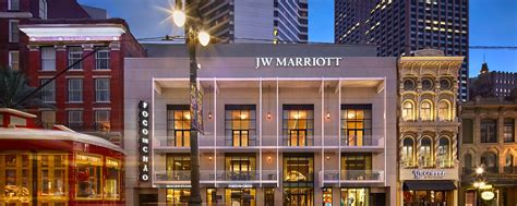 luxury hotel in new orleans la jw marriott new orleans