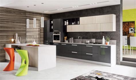 cuisine moderne grise cuisine grise de design moderne 25 idées de décoration