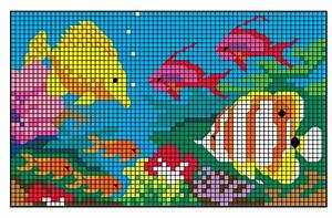 First Page Design For Project Mystery Mosaics On Aiga Member Gallery