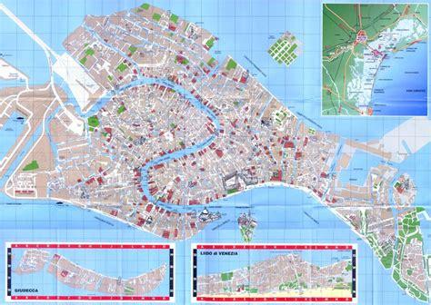 venice map italy