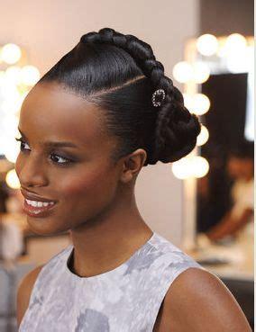 bridal hairstyles black woman
