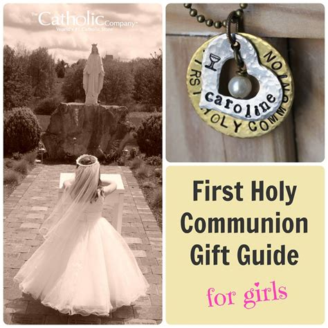 gifts for communion girl holy communion gift guide for the catholic