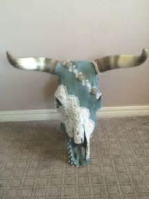 1000 ideas about longhorn skulls on pinterest painted