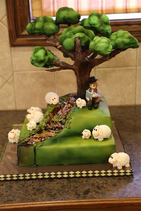tree cake tree cake sheep farmer cakecentral com