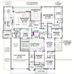 courtyard plans house plans and design contemporary house plans with courtyard