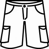 Shorts Cargo Clipart Svg Icon  Onlinewebfonts Clipground sketch template