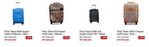 Harga Koper Merk Orentina daftar harga koper polo kecil kita punya