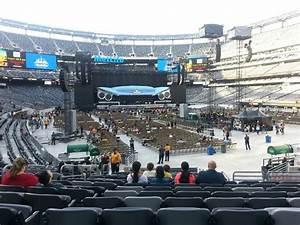 New York Stadium Seating Chart Metlife Stadium Section 129 Concert Seating
