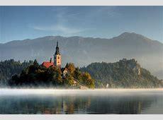 Assumption of Mary Pilgrimage Church on Lake Bled Island