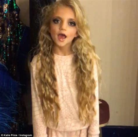 katie price  daughter princess wear matching tracksuits