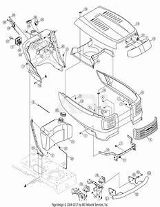 Troy Bilt 14aa80tp766 Big Red Horse  2007  Parts Diagram
