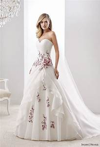 nicole jolies collection 2016 colored wedding dresses With wedding dress with color