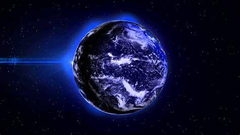 earth  night lights min loop  background