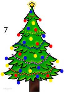 how to draw a christmas tree step by step pictures cool2bkids