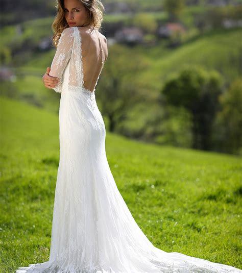 robe longue dos nu mariage photo laporte collection 2017 robe de mari 233 e