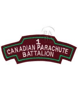title 1st canadian parachute battalion paratrooper
