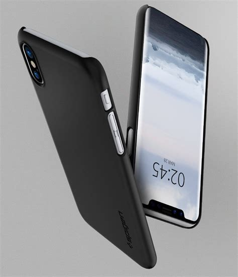 Sgp Thin Fit For Iphone Oem apple iphone x spigen original thin fit for apple iphone x