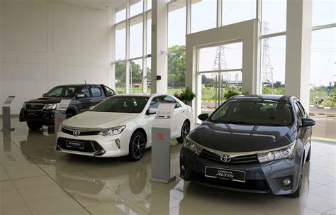 toyota area full fledged toyota 3s centre opened in rawang drive