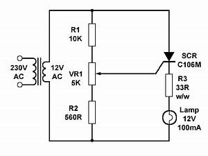 scrs in ac circuits With how to make simple scr circuits
