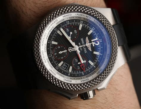 bentley breitling clock car watch review bentley mulsanne speed breitling for