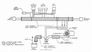 Dixon Ztr 361  1992  Parts Diagram For Wiring Assembly