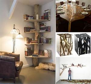 25 cool tree inspired furniture designs you 39 ll