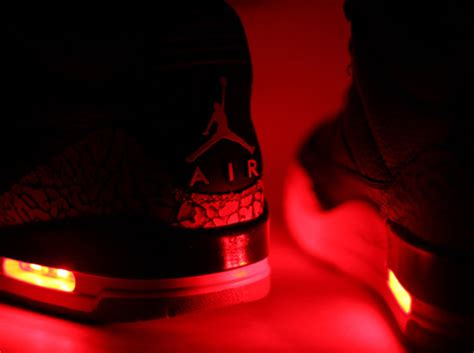 light up air ones air iii quot light up quot customs by evolved footwear