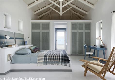 dans la chambre une maison grecque à la vue époustouflante décoration